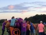 Onovertroffen luchtballon vaart opgestegen op startveld Deurne maandag 30 juli 2018