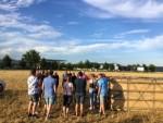 Exceptionele luchtballonvaart gestart in Deurne maandag 30 juli 2018