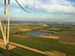 Professionele luchtballonvaart omgeving Groningen maandag 30 juli 2018