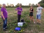 Formidabele ballonvlucht in de omgeving Beesd maandag  6 augustus 2018