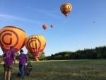 Unieke heteluchtballonvaart in de buurt van Beesd maandag  6 augustus 2018
