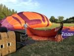 Ongelofelijke mooie heteluchtballonvaart boven de regio Beesd maandag  6 augustus 2018