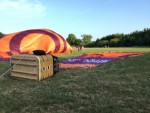 Uitmuntende ballonvlucht regio Beesd maandag  6 augustus 2018