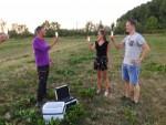 Verbluffende luchtballon vaart in de omgeving van Beesd maandag  6 augustus 2018
