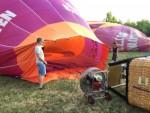 Geweldige ballon vlucht in de regio Beesd maandag  6 augustus 2018