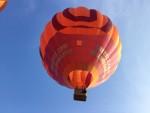 Indrukwekkende ballon vaart gestart op opstijglocatie Beesd maandag  6 augustus 2018
