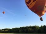 Sublieme luchtballonvaart vanaf opstijglocatie Beesd maandag  6 augustus 2018