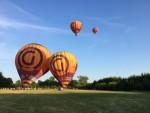 Unieke ballonvlucht in de buurt van Beesd maandag  6 augustus 2018