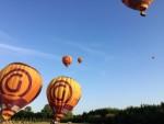 Onovertroffen luchtballon vaart opgestegen op startveld Beesd maandag  6 augustus 2018