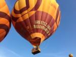 Uitzonderlijke heteluchtballonvaart opgestegen op startveld Beesd maandag  6 augustus 2018