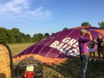Magische ballonvlucht vanaf opstijglocatie Beesd maandag  6 augustus 2018
