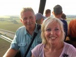 Prettige ballonvaart over de regio Beesd maandag  6 augustus 2018