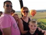 Heerlijke ballon vlucht vanaf opstijglocatie Beesd maandag  6 augustus 2018