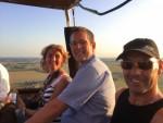 Prettige heteluchtballonvaart opgestegen op opstijglocatie Beesd maandag  6 augustus 2018