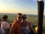 Prettige heteluchtballonvaart opgestegen op startlocatie Beesd maandag  6 augustus 2018