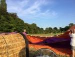 Uitzonderlijke luchtballon vaart opgestegen in Beesd maandag  6 augustus 2018