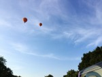 Waanzinnige luchtballonvaart opgestegen op startveld Beesd maandag  6 augustus 2018
