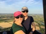 Uitstekende luchtballonvaart omgeving Beesd maandag  6 augustus 2018