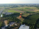 Super ballon vaart in de regio Beesd maandag  6 augustus 2018