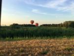 Uitstekende luchtballonvaart in de regio Beesd maandag  6 augustus 2018