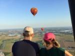 Relaxte ballonvlucht opgestegen op startveld Beesd maandag  6 augustus 2018