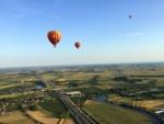 Meesterlijke ballonvlucht in de buurt van Beesd maandag  6 augustus 2018