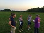 Fabuleuze ballon vlucht gestart op opstijglocatie Beesd maandag 6 augustus 2018