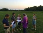 Voortreffelijke luchtballonvaart startlocatie Beesd maandag  6 augustus 2018