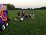 Fantastische heteluchtballonvaart gestart op opstijglocatie Beesd maandag 6 augustus 2018