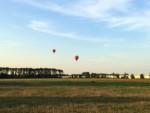 Te gekke luchtballon vaart gestart in Beesd maandag 6 augustus 2018