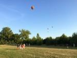 Magnifieke heteluchtballonvaart boven de regio Beesd maandag  6 augustus 2018