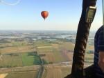 Mooie ballonvaart gestart op opstijglocatie Beesd maandag  6 augustus 2018