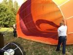Fenomenale ballon vaart boven de regio Beesd maandag  6 augustus 2018