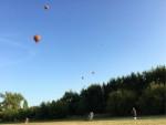 Comfortabele ballonvlucht in de omgeving Beesd maandag  6 augustus 2018