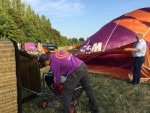 Ongelofelijke mooie ballon vlucht gestart op opstijglocatie Beesd maandag  6 augustus 2018