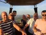 Unieke ballonvlucht opgestegen op startveld Beesd maandag  6 augustus 2018