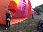 Onovertroffen ballon vaart in de omgeving van Beesd maandag  6 augustus 2018