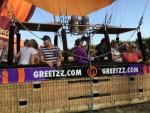 Exceptionele ballon vaart vanaf startlocatie Beesd maandag  6 augustus 2018