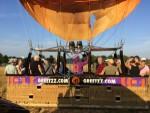 Onovertroffen ballon vaart in de omgeving van Deurne maandag 6 augustus 2018