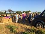 Onovertroffen ballonvlucht in de omgeving van Deurne maandag 6 augustus 2018