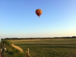 Buitengewone ballon vaart in de omgeving van Deurne maandag 6 augustus 2018