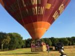 Verrassende ballon vlucht in de regio Sint anthonis maandag  6 augustus 2018