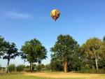 Indrukwekkende luchtballon vaart gestart in Sint anthonis maandag 6 augustus 2018