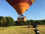 Voortreffelijke luchtballon vaart in Sint anthonis maandag 6 augustus 2018