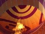 Jaloersmakende ballon vaart opgestegen op startlocatie Beesd maandag  7 mei 2018