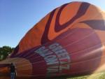 Overweldigende luchtballonvaart opgestegen op opstijglocatie Beesd maandag  7 mei 2018