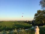 Geweldige luchtballon vaart in de buurt van Beesd maandag  7 mei 2018