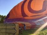Super ballonvaart gestart op opstijglocatie Beesd maandag  7 mei 2018