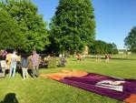 Indrukwekkende ballon vlucht in de omgeving Maastricht maandag 7 mei 2018