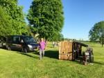 Prettige ballonvlucht gestart in Maastricht maandag 7 mei 2018